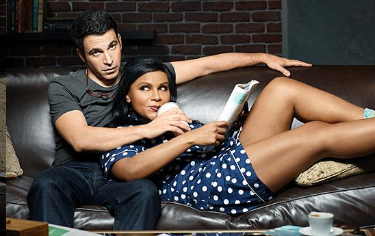 OK so they're not even a real couple, but I love the Mindy Project so bad.